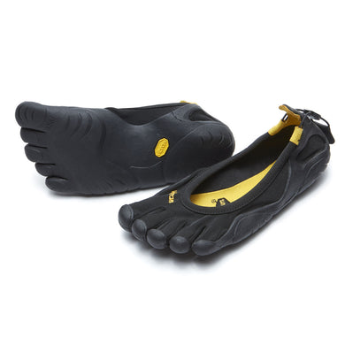 Women's Vibram Five Fingers Classic Running Shoe in Black/Black from the front