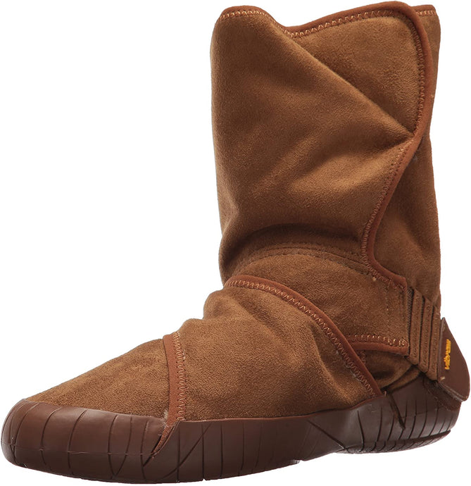 Vibram Five Fingers Women's Furoshiki Classic Shearling Mid Winter Boot in Brown from the side