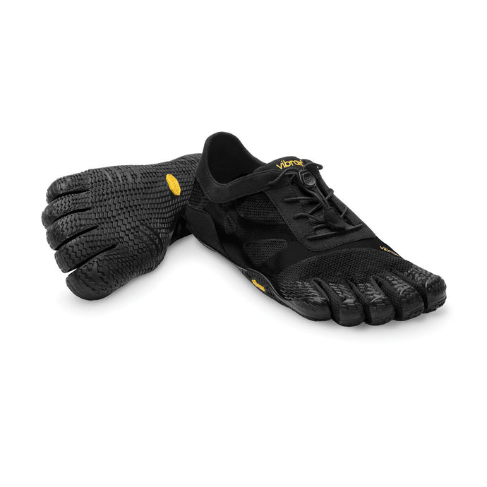 Women's Vibram Five Fingers KSO EVO Training Shoe in Black from the front
