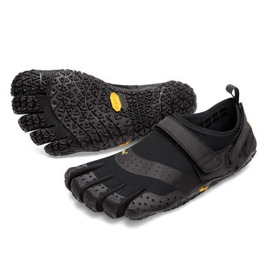 Women's Vibram Five Fingers V-Aqua Water Shoe in Black from the front