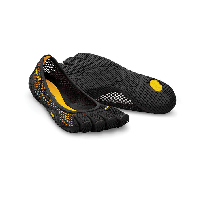 Women's Vibram Five Fingers Vi-B Training Shoe in Black from the front
