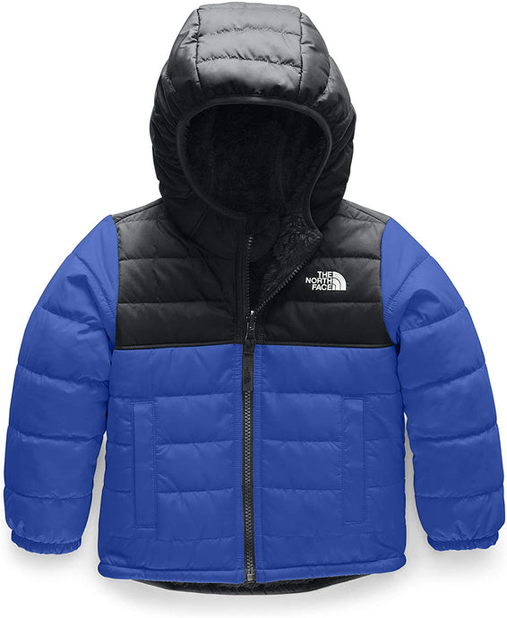 Infant The North Face Reversible Mount Chimborazo Hoodie in TNF Blue from the front
