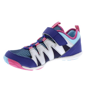 Youth Tsukihoshi Wave Sneaker in Lilac/Sky from the front view