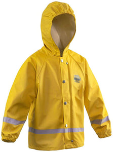 Zenith 293 Jacket in Yellow color from the front view