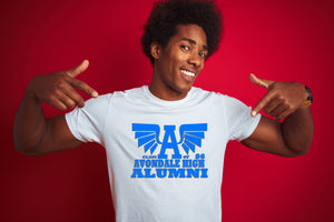 Avondale Alumni Tee (words on back)- IV Shirt Gemini2face Art E-Store
