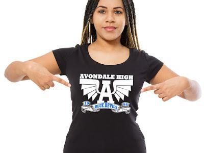 Avondale Alumni Tee (words on back)- III Shirt Gemini2face Art E-Store