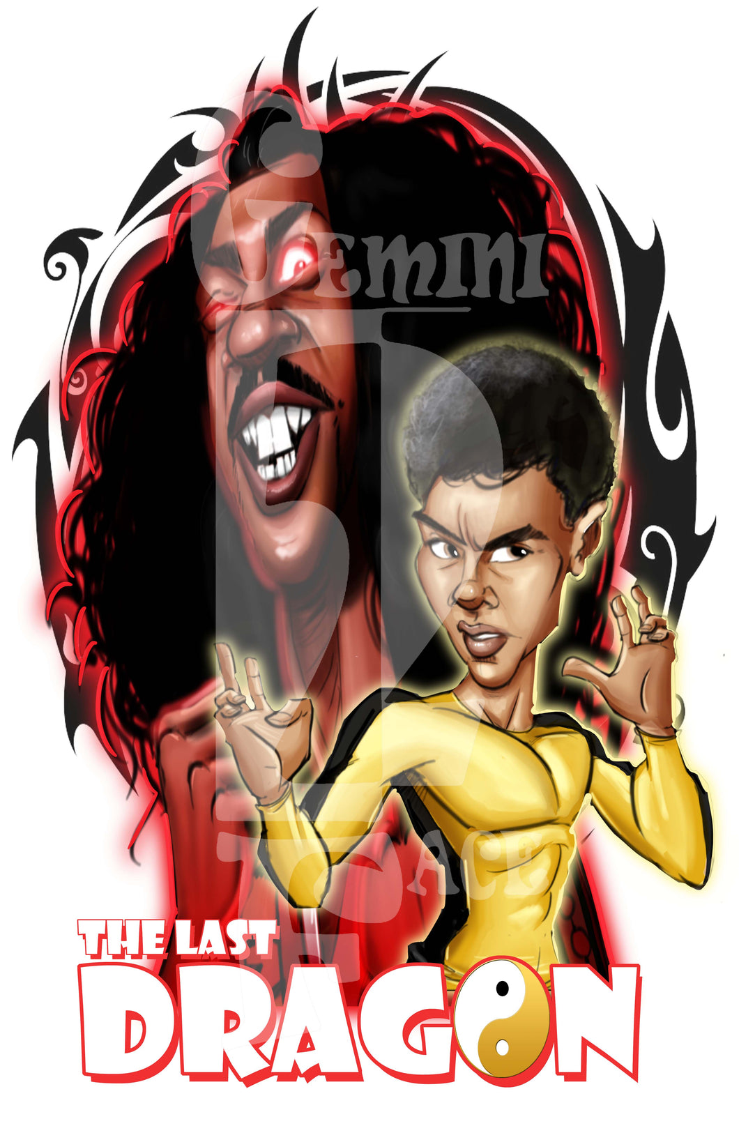 Last Dragon PNG PNG File Gemini2face Art E-Store