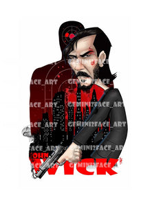 John Wick The Ultimate Assassin Shirt Gemini2face Art E-Store