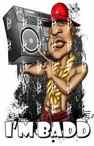 LL Cool J PNG PNG File Gemini2face Art E-Store