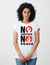 Load image into Gallery viewer, No Justice No Peace (version 2) Shirt Gemini2face Art E-Store