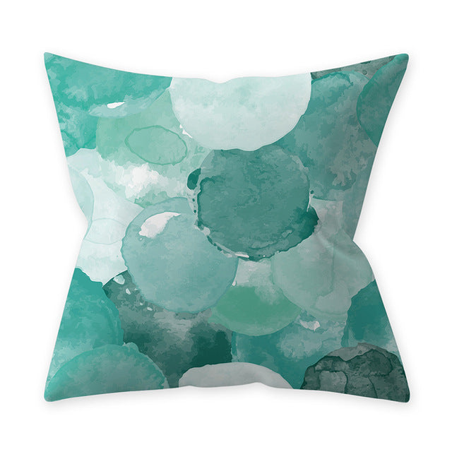 Geometic Graphics Soft Pillow - Ritzier