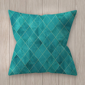Geometic Graphics Soft Pillow-Ritzier