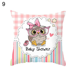 Owl Family Fun II Pillow - Ritzier