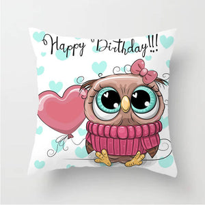 Owl Family Fun Pillow - Ritzier