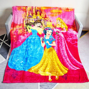 Disney Princess Printed Soft Blanket - Ritzier