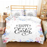 Happy Easter Comforter Bedding Set - Ritzier