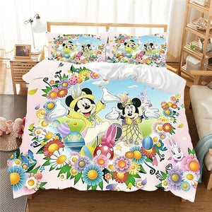 Mickey & Minnie Easter Comforter Bedding Set - Ritzier