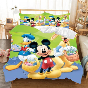 Mickey Mouse Easter Comforter Bedding Set - Ritzier