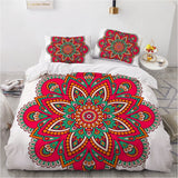 3D Aztec Bed Linen Comforter Quilt Cover Bedding Set