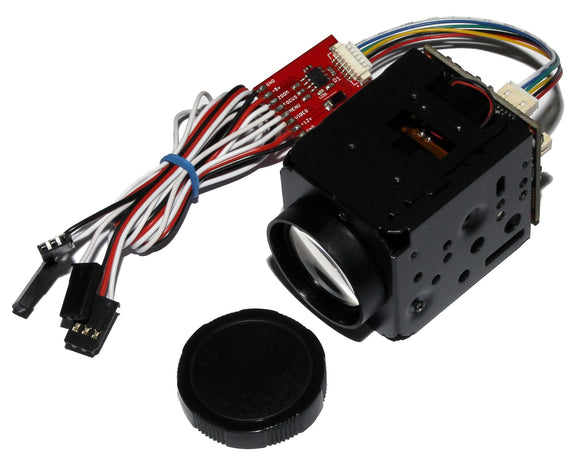 FM10X Micro 800TVL Zoom Camera with Infrared sensitive CCD