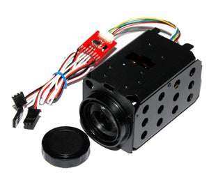 FM36X 800TVL Zoom Camera with Infrared sensitive CCD