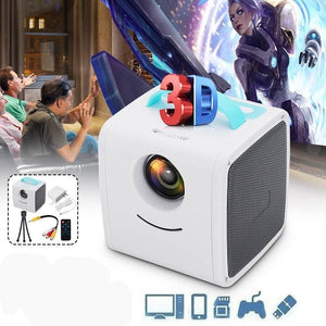 MagiCube Portable Mini Projector