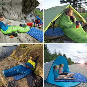 INFLATABLE CAMPING MAT