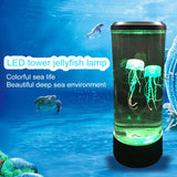 Animated Color Changing LED Jellyfish Lamp