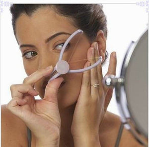 DIY Easy Facial Threading Hair Remover