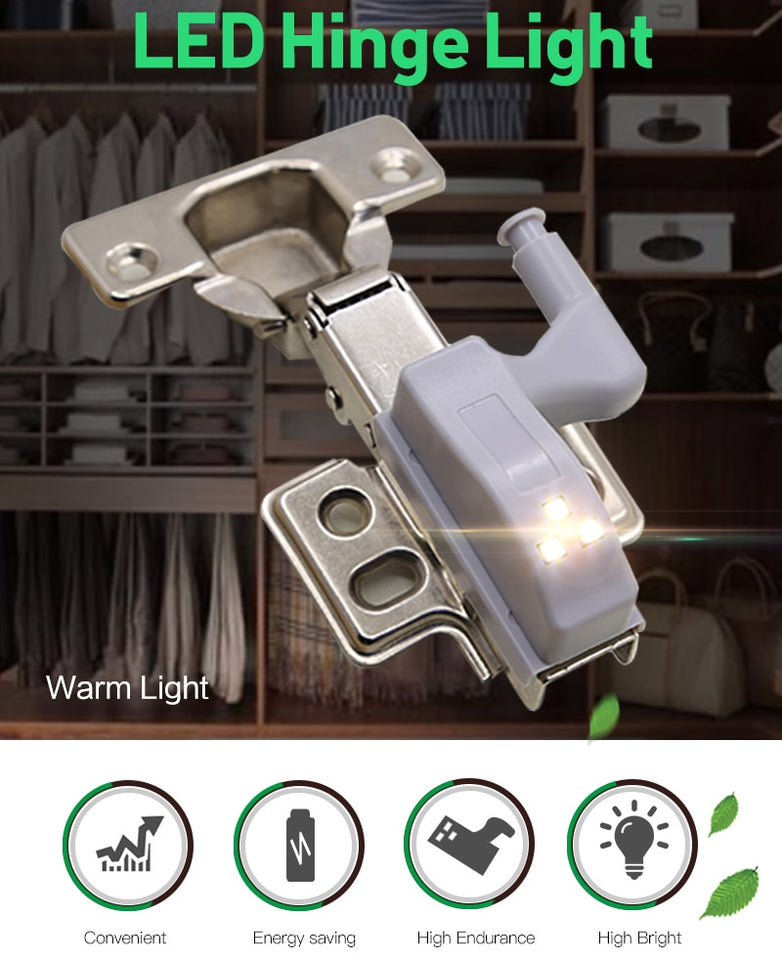 SMART TOUCH SENSOR CABINET LIGHTS