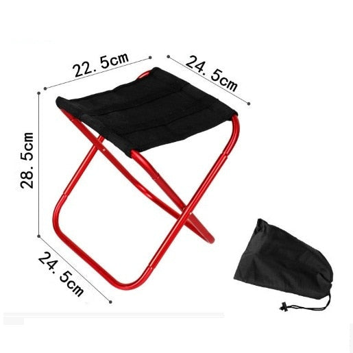 Lightweight Foldable Chair - Grab a Seat Anywhere!