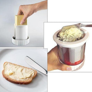 Rotating Cheese & Butter Grater