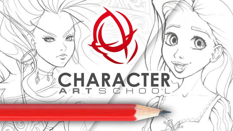 Course Character Art School: Complete Character Drawing