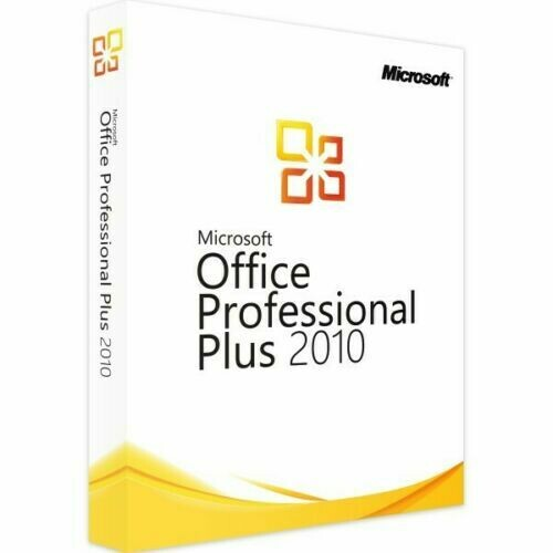Microsoft Office 2010 Professional Plus 32/64Bit Genuine Licence Key Lifetime Activation Instant Delivery