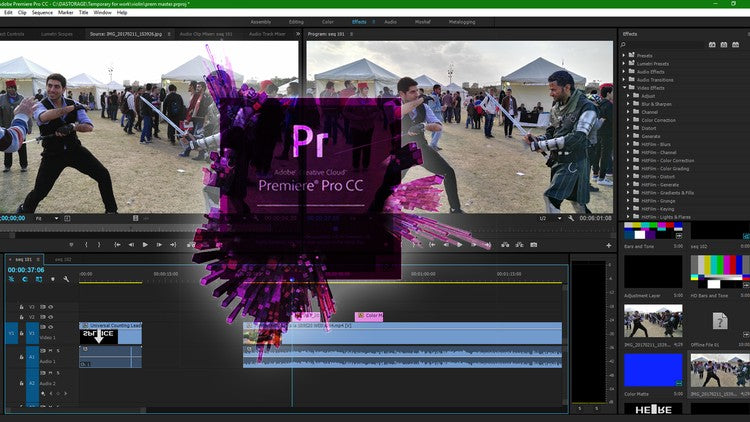Course Adobe Premiere Pro CC Complete Course – Beginner to Advanced
