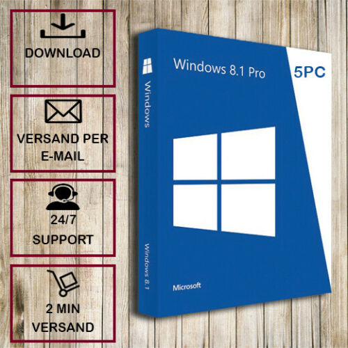 Windows 8.1 Professional Genuine Licence Key Instant Delivery 1pc