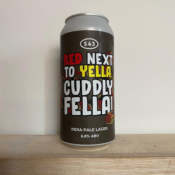 Red Next To Yella, Cuddly Fella! 440ml can