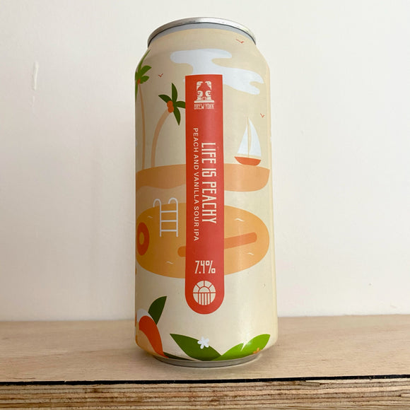 Life is Peachy 440ml can