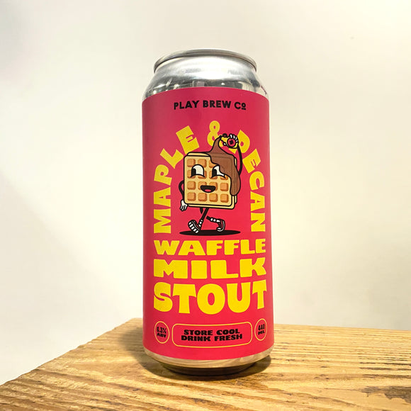 Maple & Pecan Waffle Milk Stout 440ml can