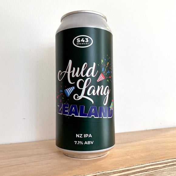 Auld Lang Zealand 440ml can