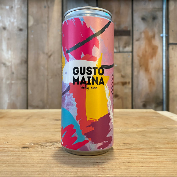 Gusto Mania 330ml can