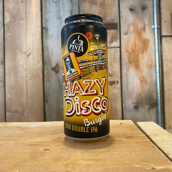 Hazy Disco 500ml can