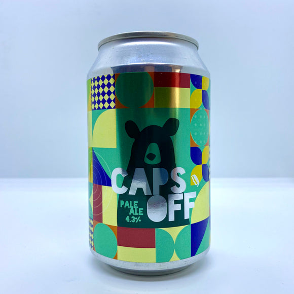 Caps Off Pale Ale - 330ml can