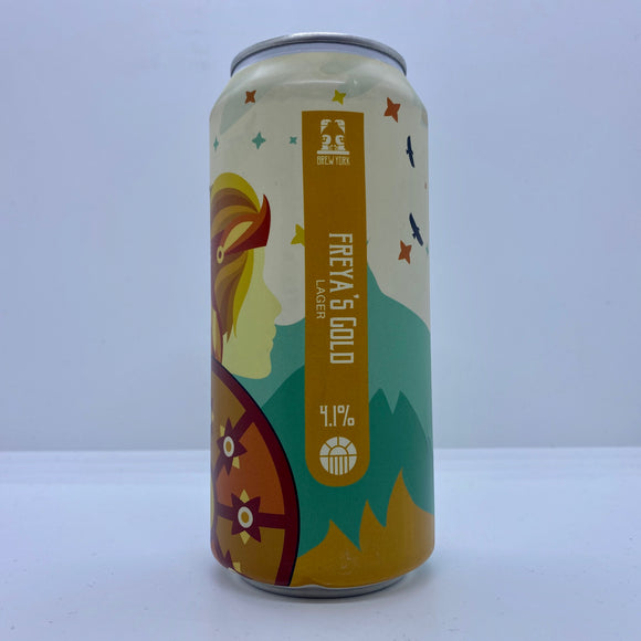 Freya's Gold 440ml can