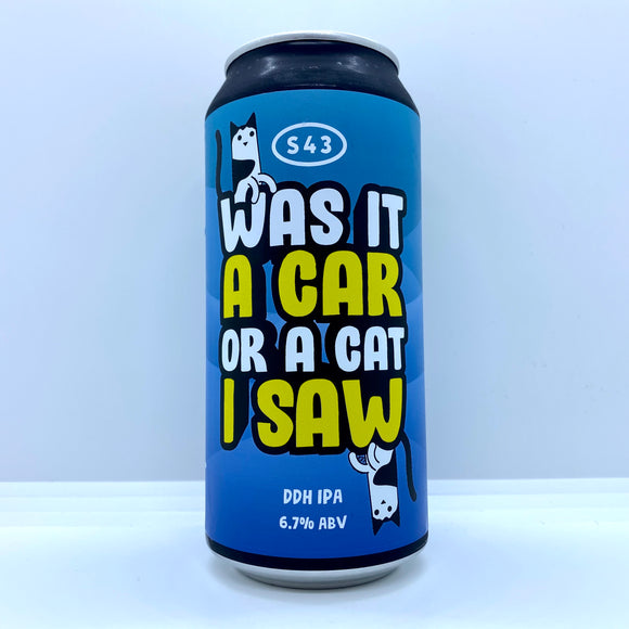 Was It a Car or a Cat I Saw 440ml can