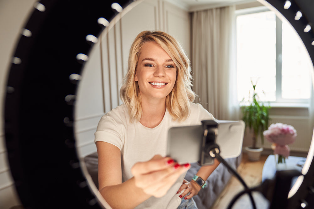comment placer une ring light