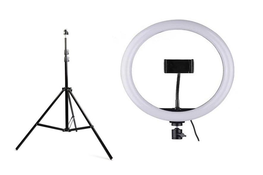 trépied pour ring light