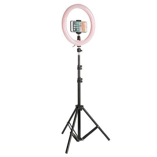 anneau lumineux ring light rose