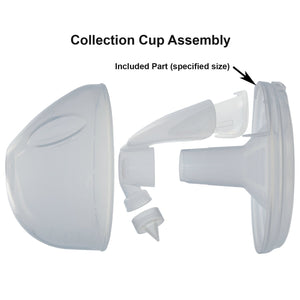 28mm Breast Funnels for Closed Freemie Cups (2)
