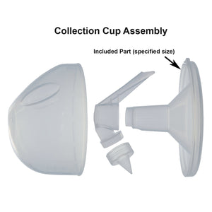 25mm Breast Funnels for Open Freemie Cups